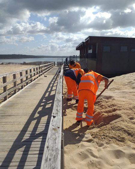 limpeza de praias